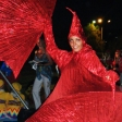Красный арлекин без маски