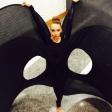 Гимнастка в чёрном без маски