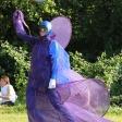 Фиолетово-синий мим