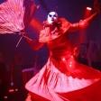 Красная дама с веером
