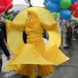 Мимы на параде