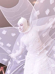 Белые мимы - Театр Елены Басовой