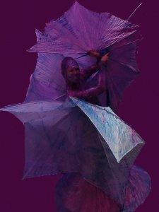 Фиолетовые мимы