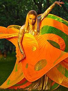 Оранжевые мимы - Театр Елены Басовой
